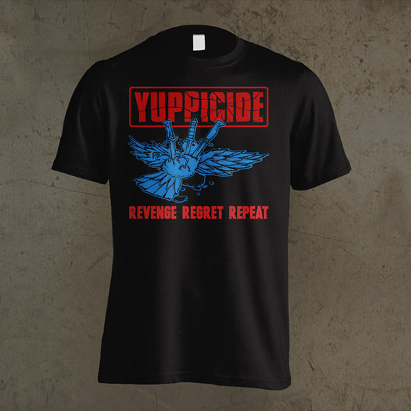Yuppicide Packaging and Merchandise